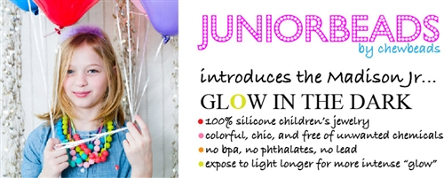 Juniorbeads Madison Jr. Necklace (Glow in the Dark)