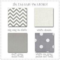 Zig Zag Fabric Swatches