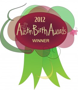 2012 Austin Birth Awards Winner
