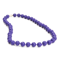 Jane Teething Necklace-Purple-Chewbeads Jane Teething Necklace,teether,teether necklace,teething necklace,Purple