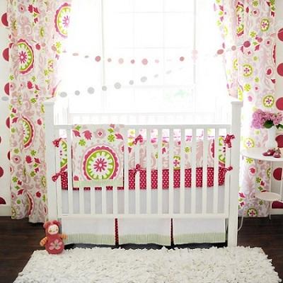 Strawberry Fields Baby Bedding Set-Strawberry Fields Baby Bedding