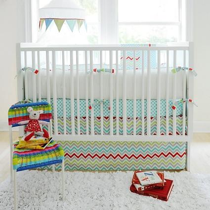 Jellybean Parade Crib Bedding-Jellybean Parade Crib Bedding