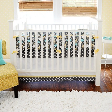 Urban Zoo Baby Bedding-Urban Zoo Baby Bedding, safari, jungle, zoo, noahs ark, elephant, giraffe, zebra, bedding, crib set, baby, crib, black, grey, aqua, zoofari,zoo, animals,