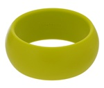 Chartreuse Charles Bangle-Chewbeads Charles Bangle, teether, teething, bracelet, bangle, nursing reminder,nursing, breastfeeding bracelet, chewbeads, charles, Chartreuse