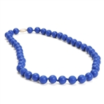 Jane Teething Necklace-Cobalt Blue-Chewbeads Jane Teething Necklace,teether,teether necklace,teething necklace,Cobalt Blue