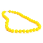 Jane Teething Necklace-Yellow-Chewbeads Jane Teething Necklace,teether,teether necklace,teething necklace,Yellow