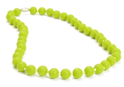 Jane Teething Necklace-Chartreuse-Chewbeads Jane Teething Necklace,teether,teether necklace,teething necklace,Chartreuse