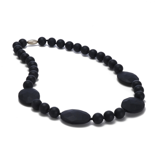 Perry Teething Necklace-Black-Chewbeads Perry Teething Necklace,chewbeads,teether,teether necklace,teething necklace,Perry Teething Necklace Black ,Black Perry Teething Necklace-Black