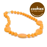 Perry Teething Necklace-Creamsicle-Chewbeads Perry Teething Necklace,chewbeads,teether,teether necklace,teething necklace,Perry Teething Necklace Creamsicle,orange,creamsicle, Perry Teething Necklace-Creamsicle