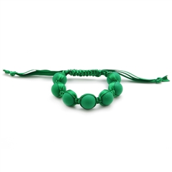 Cornelia Bracelet - Emerald Green-chewbeads, bracelet, nursing, teether, teething,Cornelia Bracelet,Emerald Green