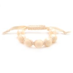 Cornelia Bracelet - Ivory-chewbeads, bracelet, nursing, teether, teething,Cornelia Bracelet,Ivory, teething bracelet, off white teether,