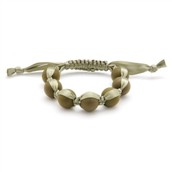 Cornelia Bracelet - Military Olive-chewbeads, bracelet, nursing, teether, teething,Cornelia Bracelet,Military Olive