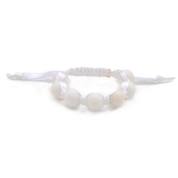 Cornelia Bracelet - White-chewbeads, bracelet, nursing, teether, teething,Cornelia Bracelet ,White
