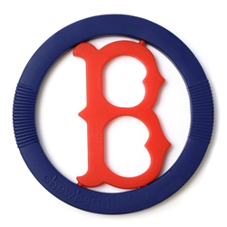 Chewbeads MLB Gameday Teether- Boston Red Sox-Chewbeads, teether toy, teether, chewbeads, MLB Teether, sports teether,baseball teether, Boston, red sox, teether