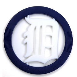 Chewbeads MLB Gameday Teether- Detroit Tigers-Chewbeads, teether toy, teether, chewbeads, MLB Teether, sports teether,baseball teether,Detroit Tigers