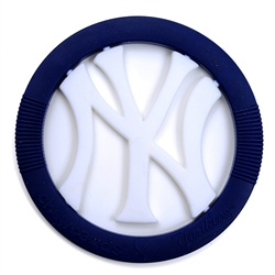 Chewbeads MLB Gameday Teether- New York Yankees-Chewbeads, teether toy, teether, chewbeads, MLB Teether, sports teether,baseball teether, New York Yankees