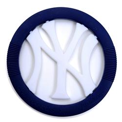 Chewbeads MLB Gameday Teether- New York Yankees-Chewbeads, teether toy, teether, chewbeads, MLB Teether, sports teether,baseball teether, New York Yankees